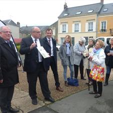 """Gérard Galpin, maire de Sillé-le-Guillaume : """"Préserver l'unité commerciale"""""""