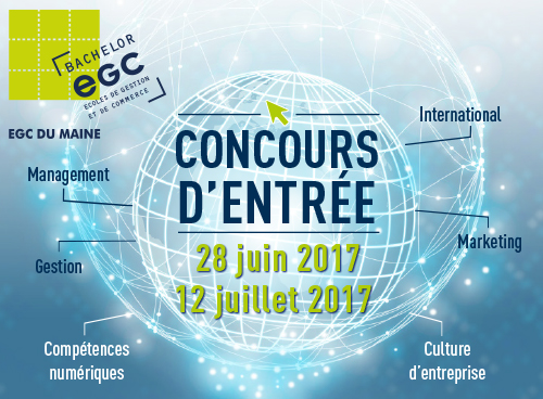 Concours entrée EGC