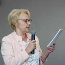 Nicole Auger, secrétaire du club d'entreprises du Gesnois Bilurien