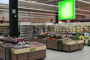 Auchan veut être spécialiste dans chaque rayon alimentaire.