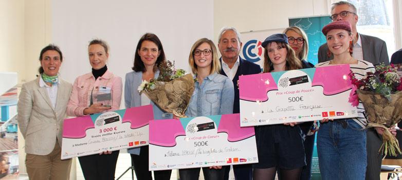 Les lauréates du Prix de la Startup'euse mancelle 2019