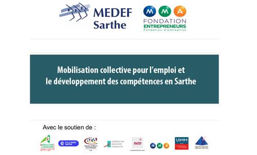 Mobilisation collective pour l'emploi et le développement des compétences en Sarthe