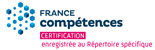 France Compétences - Certification enregistrée au Répertoire spécifique