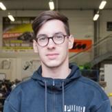Cédric Le Cointe Meilleur apprenti de France en maintenance moto