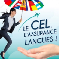 Langues étrangères International Formation continue Formation Centre d'étude de langues CEL