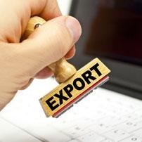 Réaliser vos formalités à l'export