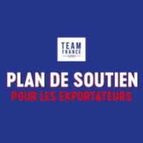 Plan de soutien export de la Team France Export et ses partenaires